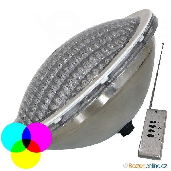 LED žárovka barevná 54 W s dálkovým ovládáním