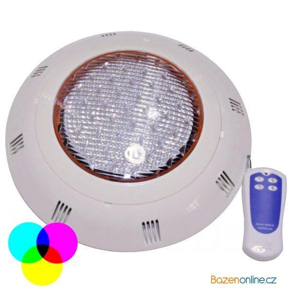 LED světlo na stěnu bazénu 54W barevné