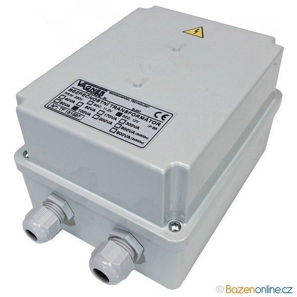 Bazénový transformátor 80W/ 12V