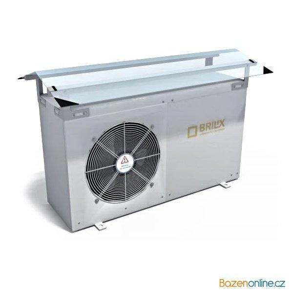Stříška na tepelné čerpadlo Brilix