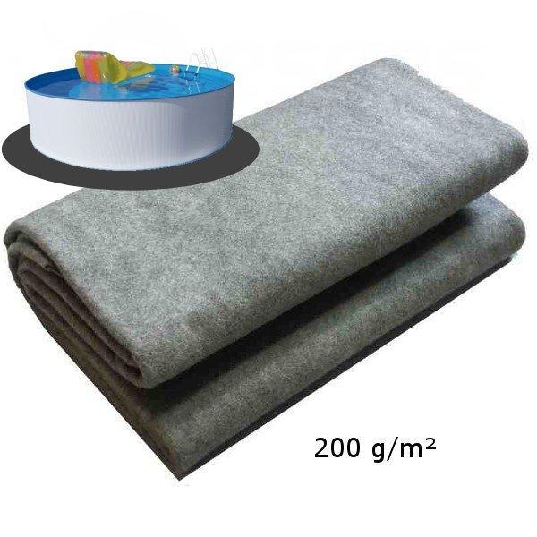 Podložka pod bazén 2,44m 200g/m2 ze dvou kusů