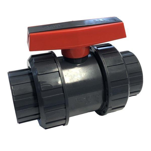 PVC kulový ventil 75 mm Extra - lepení/lepení
