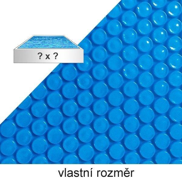 olární plachta na bazén modrá 360 mic
