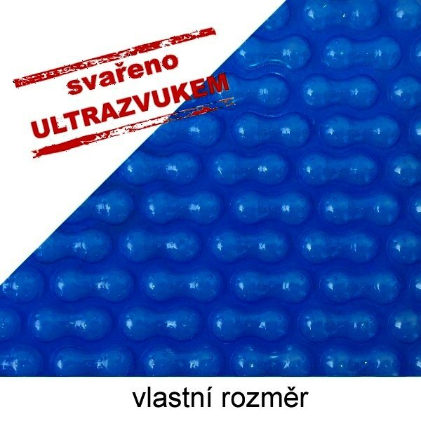 Solární plachta na bazén modrá 500 mic