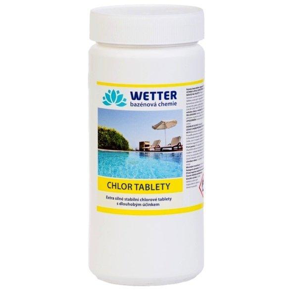 Chlor tablety. Extra silné chlorové tablety s dlouhodobým účinkem 1,6 kg