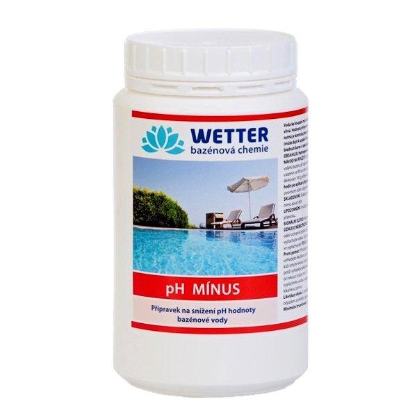 pH minus Přípravek na snížení pH hodnoty bazénové vody 1,4 kg