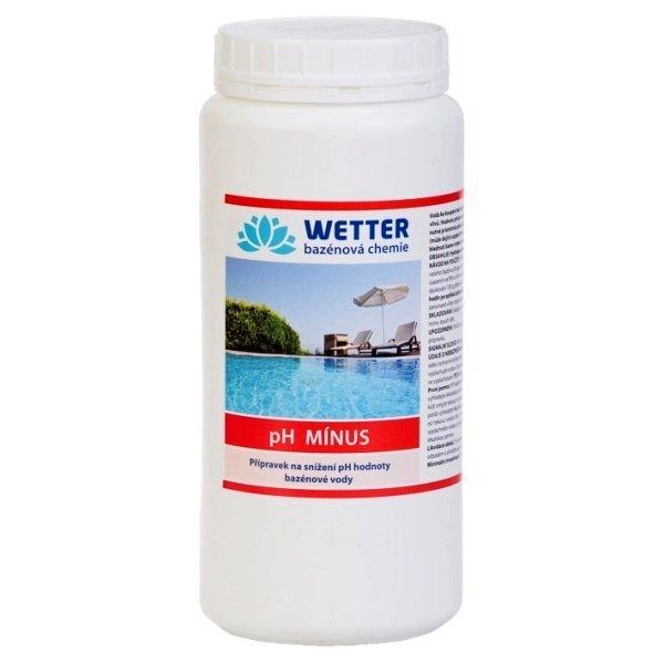 pH minus Přípravek na snížení pH hodnoty bazénové vody 2,2 kg