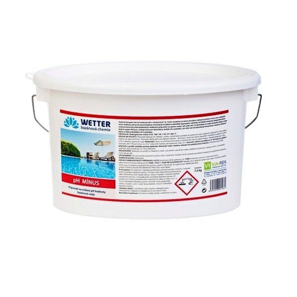 pH minus Přípravek na snížení pH hodnoty bazénové vody 7,5 kg