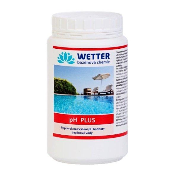 pH plus. Přípravek na zvýšení pH hodnoty bazénové vody 1 kg