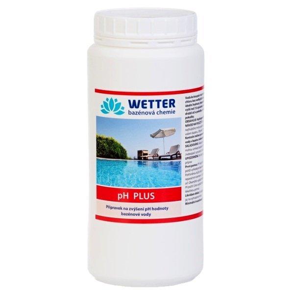pH plus. Přípravek na zvýšení pH hodnoty bazénové vody 1,6 kg