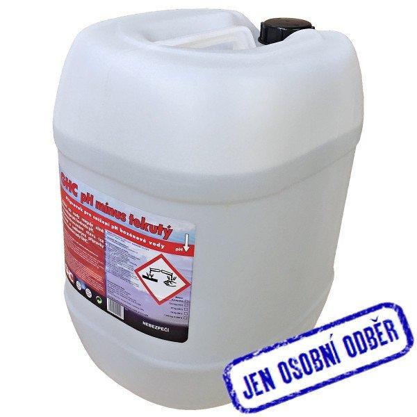 GHC pH mínus do bazénu 30 litrů