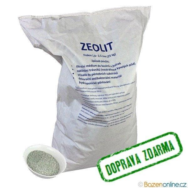 Zeolit 1 - 2,5 mm 25kg