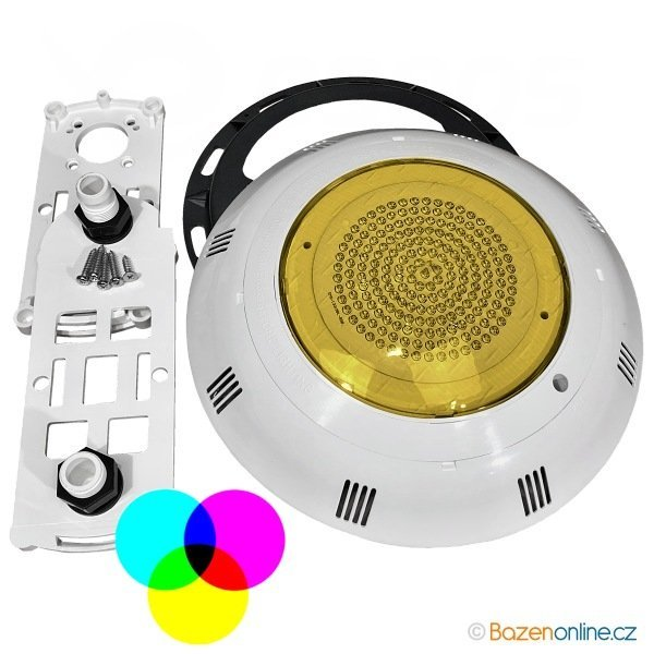 Barevné LED světlo do bazénu 8W