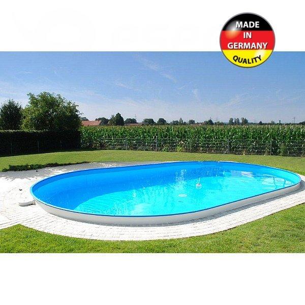 Zapuštěný bazén Trend 5 x 3 x 1,2 m ovál
