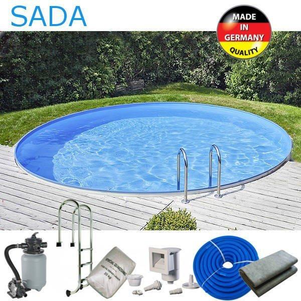 Bazén TREND 550 AKČNÍ sada kruh 5,5 x 1,2 m