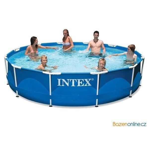 Nadzemní bazén Intex Metal Frame 3,05 x 0,76 m