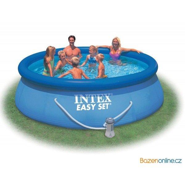 Nafukovací bazén Intex 457 x 84 cm s filtrací