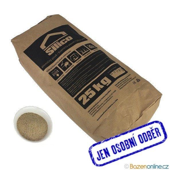 Filtrační písek do bazénové filtrace 0,8 - 1,2 mm