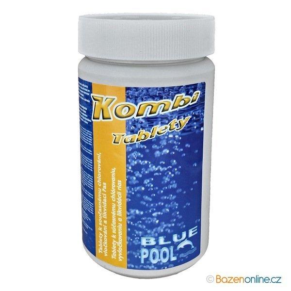 Kombi tablety 3v1 do bazénu Blue Pool MAXI 1 kg