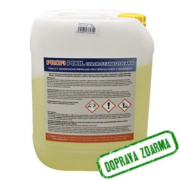 Chlor stabilizovaný do bazénu PROFIPOOL - 20 kg