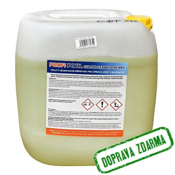 PROFIPOOL chlor stabilizovaný 35 kg tekutý