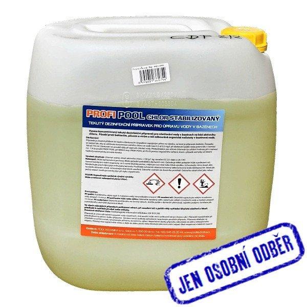 PROFIPOOL chlor stabilizovaný 35 kg - odběr Brno a Praha