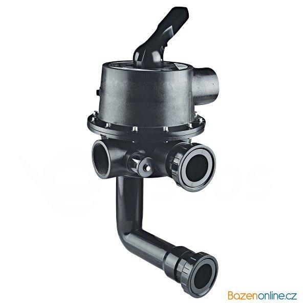 """Šesticestný ventil Magnum pro filtraci Cantabric boční 2 1/2"""""""