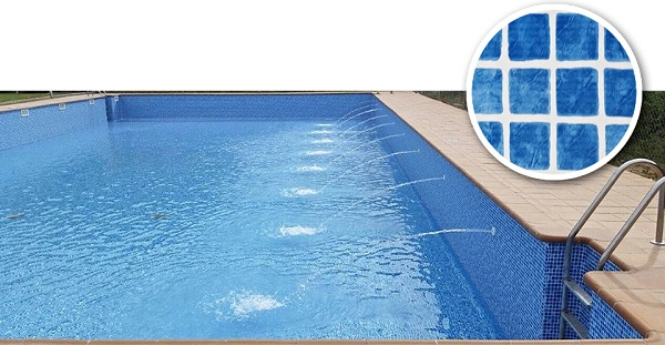 Bazénová fólie Cefil MEDITERRANEO mozaika