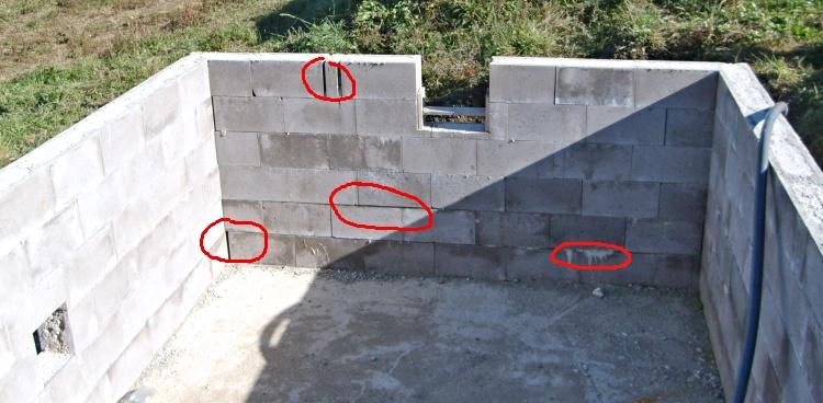 Betonový bazén svépomocí