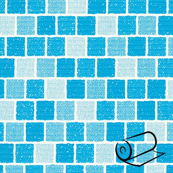 Bazénová fólie DLW Delifol mozaika 200 cm