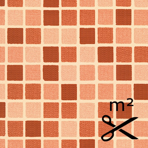 Bazénová fólie DLW mozaika Terra 165 cm - metráž