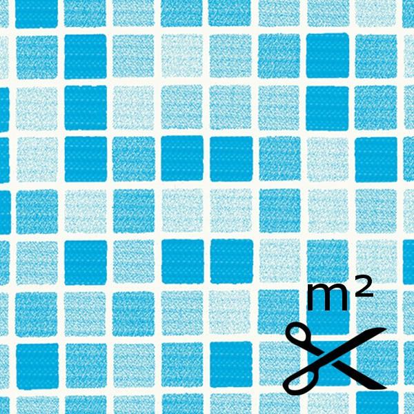Bazénová fólie DLW mozaika Blue 165 cm - metráž