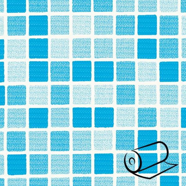 Bazénová fólie DLW mozaika Blue 165 cm