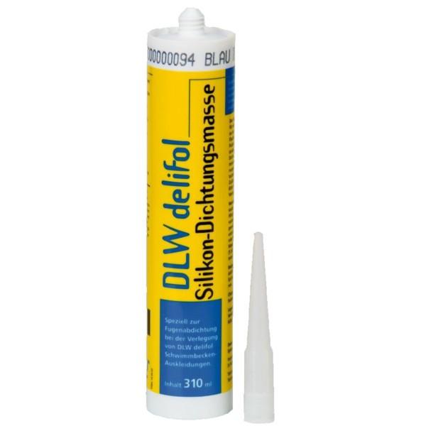 Silikon DLW bílý 310 ml