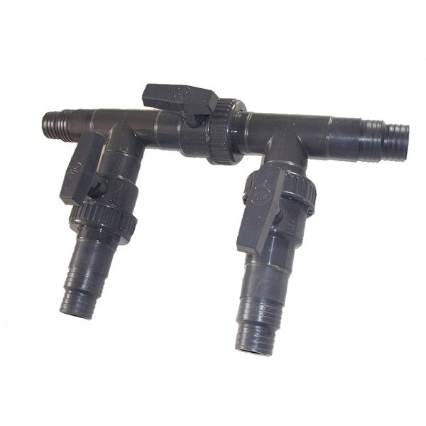 3-ventilový obtok solárního ohřevu - 32/38mm