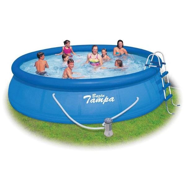 Nafukovací bazén Tampa 457 x 122 cm komplet s filtrací