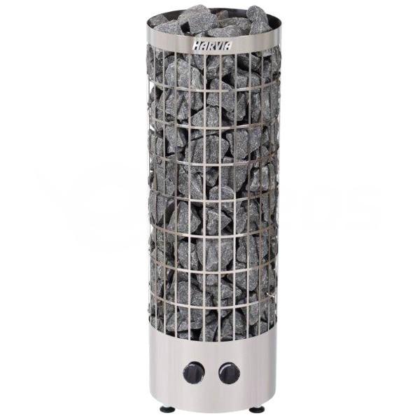 Saunová kamna Harvia Cilindro 9 kW nerez s vestavěným ovládáním
