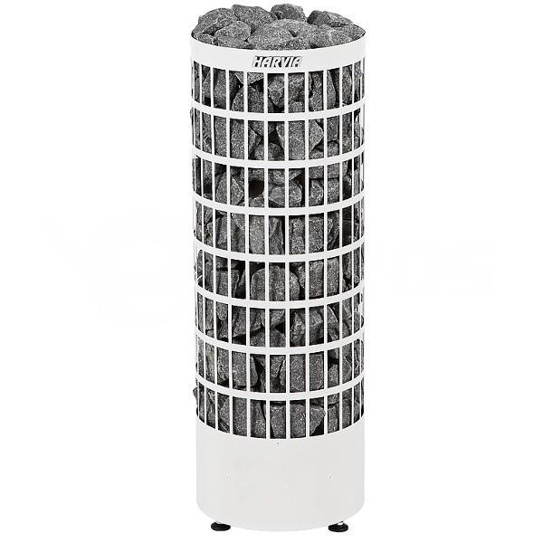 Saunová kamna Harvia Cilindro 7 kW bílá na externí ovládání