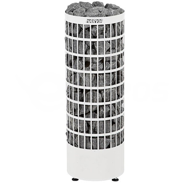 Saunová kamna Harvia Cilindro 9 kW bílá na externí ovládání