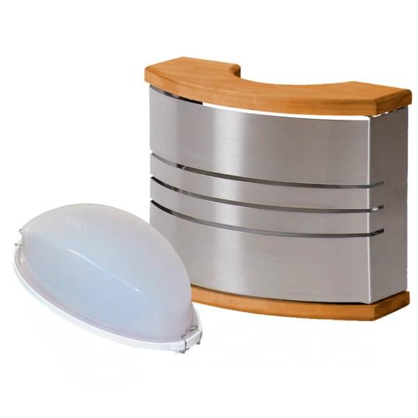 Světlo do sauny Harvia nerez se stínítkem