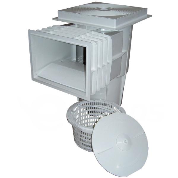 Skimmer Astral 15 l do betonu, otvor 202x140 mm