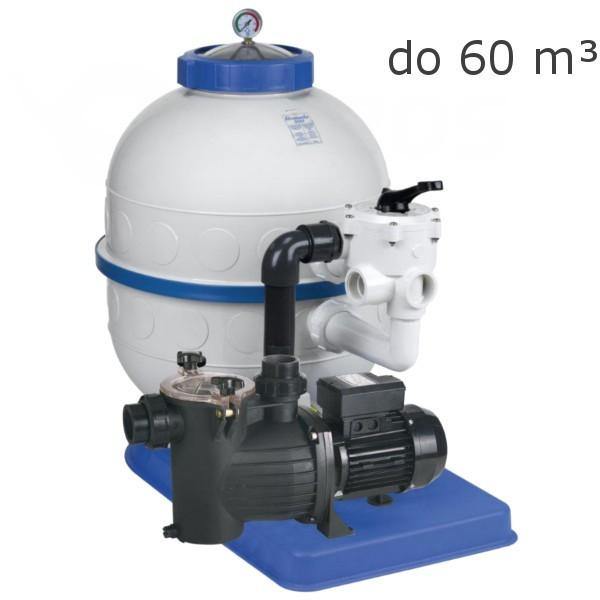 Bazénová filtrace Granada Kit 600, 12 m3 boční ventil