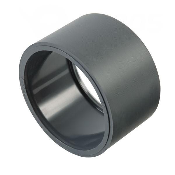 PVC krátká redukce 90/75 mm - lepení/lepení