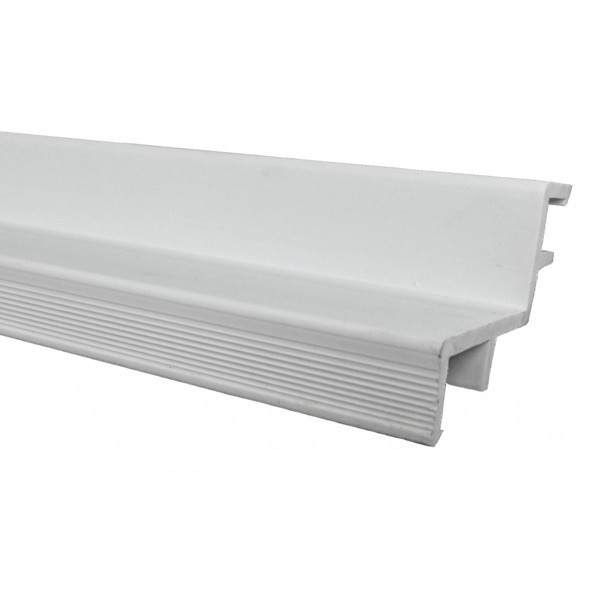 Vodící lišta pro bazénové mřížky 24 x 37 mm, 2 bm