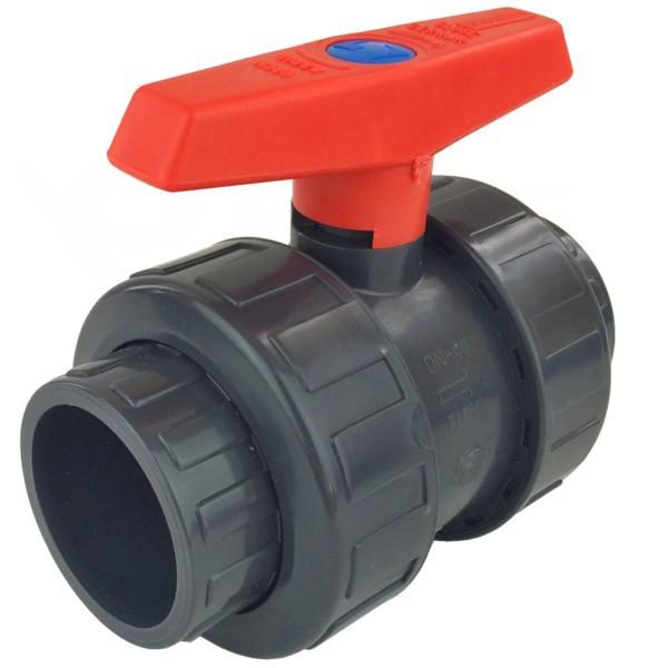 Kulový ventil PVC 50 mm Cepex lepení/lepení