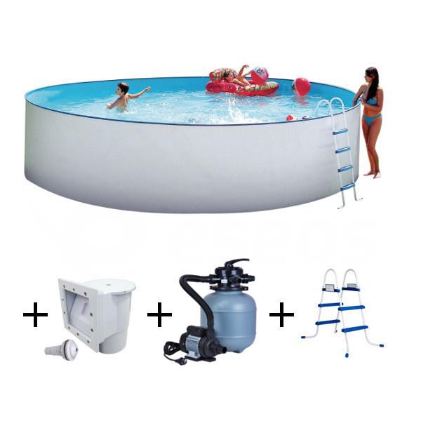 Nadzemní bazén Nuovo 4,5 x 1,2 m s pískovou filtrací