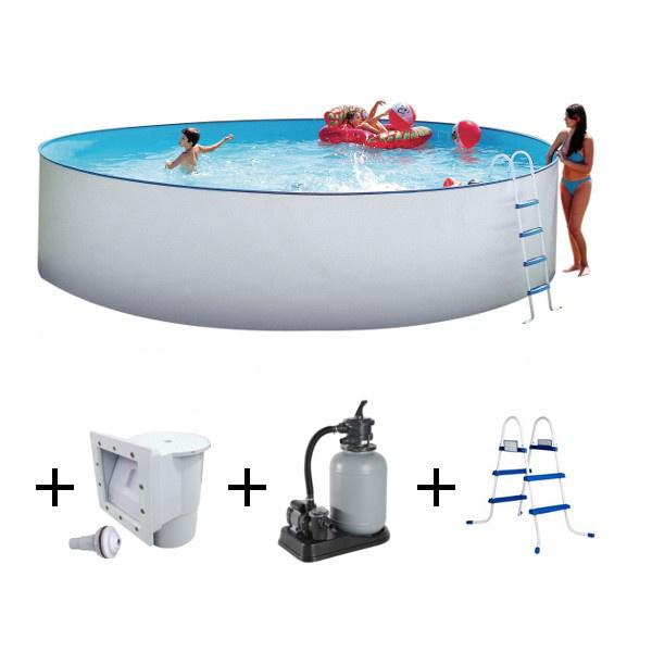 Nadzemní bazén Nuovo 5,5 x 1,2 m s pískovou filtrací