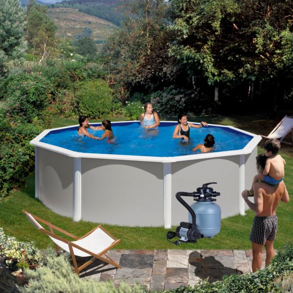 Nadzemní bazén Feeling kruh 4,6 x 1,2 m set s filtrací