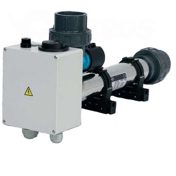 Elektrický ohřev bazénu EOV, 3 kW 230V nerez