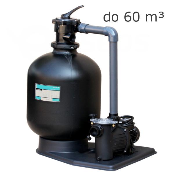 Filtrace KIT 560 s čerpadlem Preva 75 - 12m3/hod